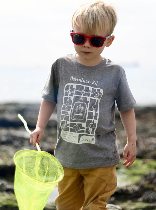 Kids adventure kit T-shirt