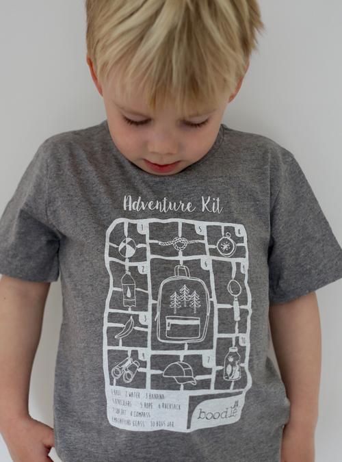 Kids adventure kit kids T-shirt