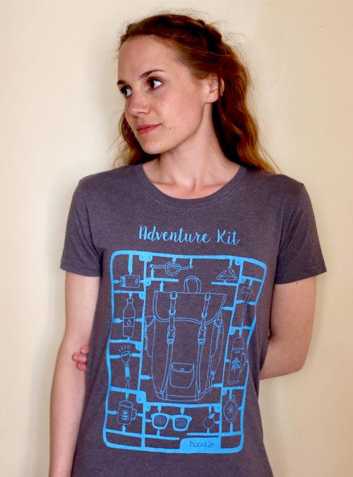 Adventure kit womens T-shirt