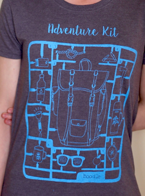 Adventure kit womens close up