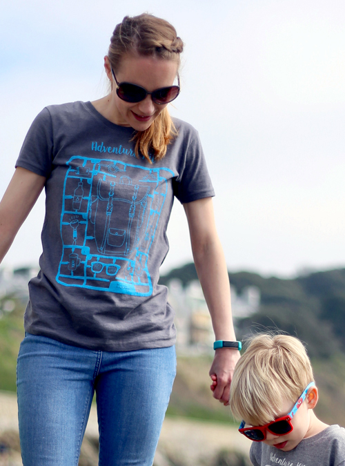 Adventure kit womens and childrens T-shirt