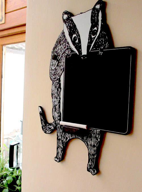 badger chalkboard