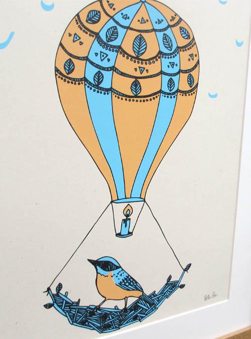 balloon wall art