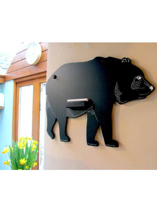 bear chalk board