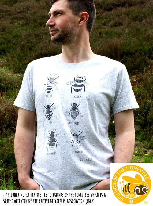 Bee T-shirt mens