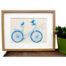birds on a bike print