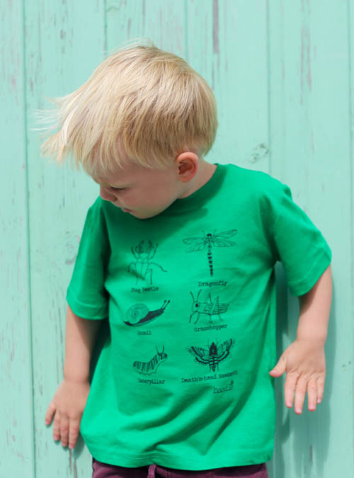 Bugs kids T-shirt outside