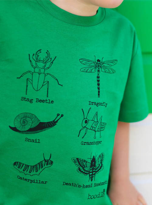 Bugs kids T-shirt close up