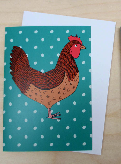 chicken and egg card