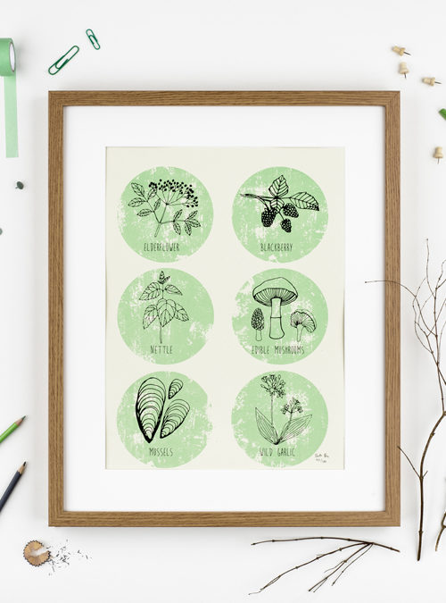 foraging print