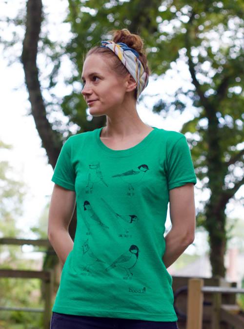 Garden birds T-shirt