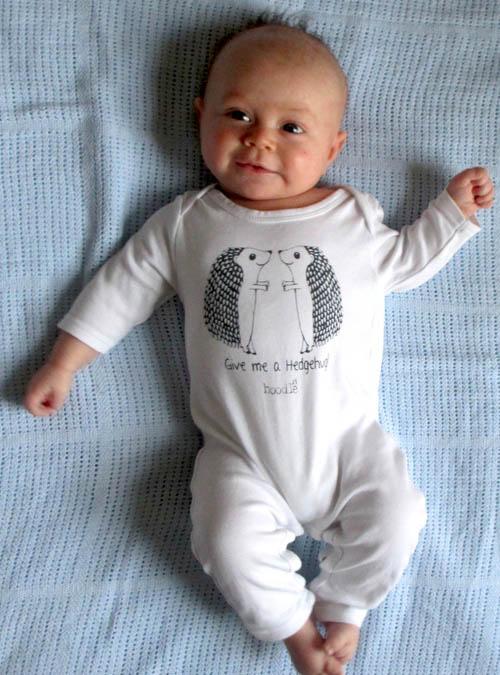 hedgehug baby grow