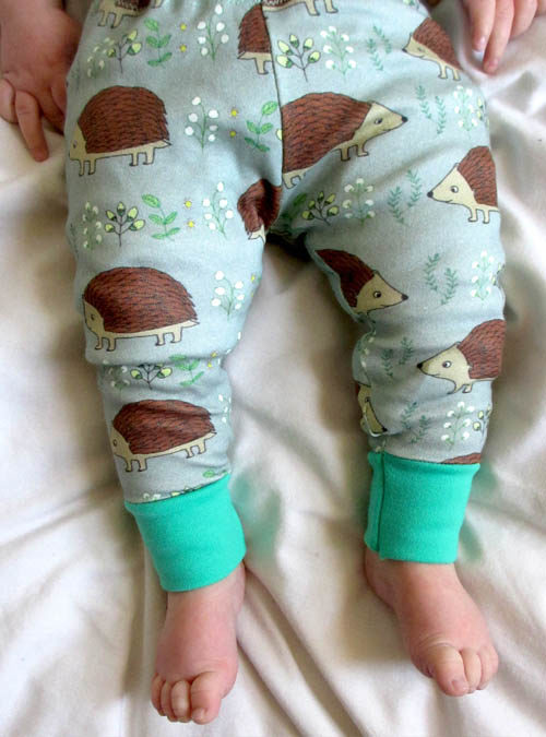 hedgehog baby leggings