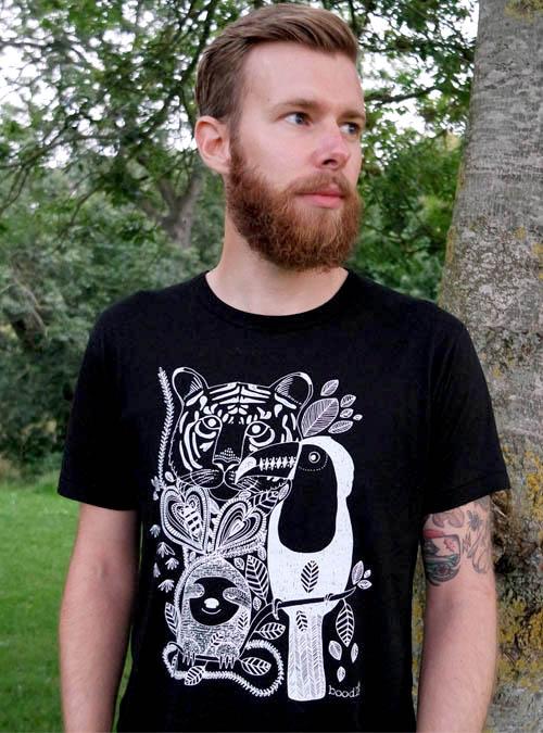 Jungle Mens Bamboo T-shirt