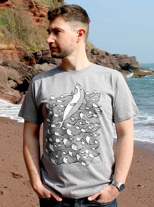King of the sea Mens T-shirt