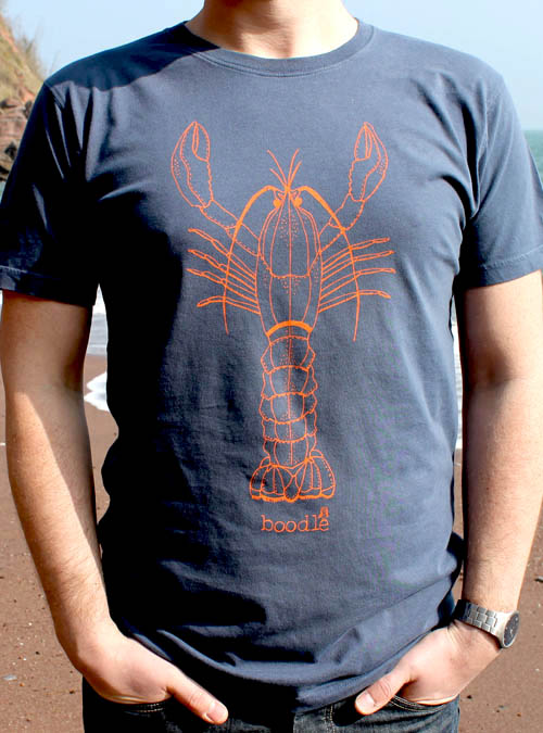 Close up of lobster mens T-shirt