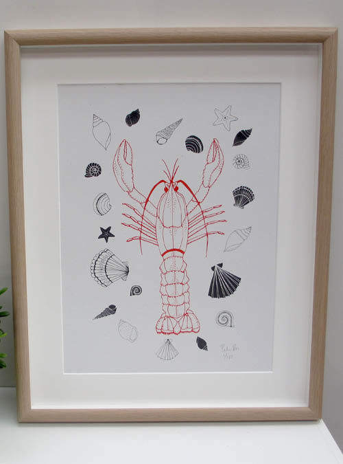 lobster wall art