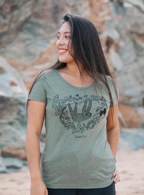 Sloth womens t-shirt