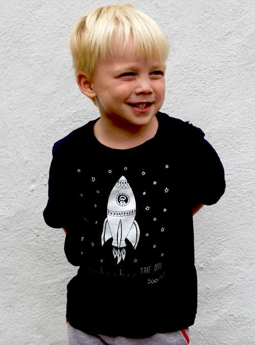 space kids T-shirt
