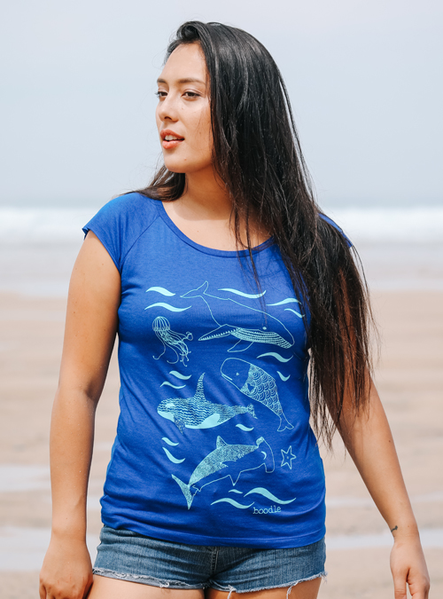 Under the sea womens T-shirt