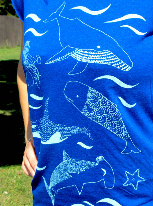 under the sea womens close up