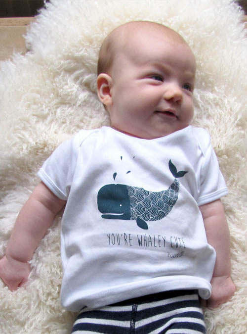 whale baby tshirt