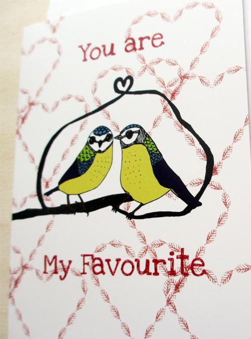 favourite card