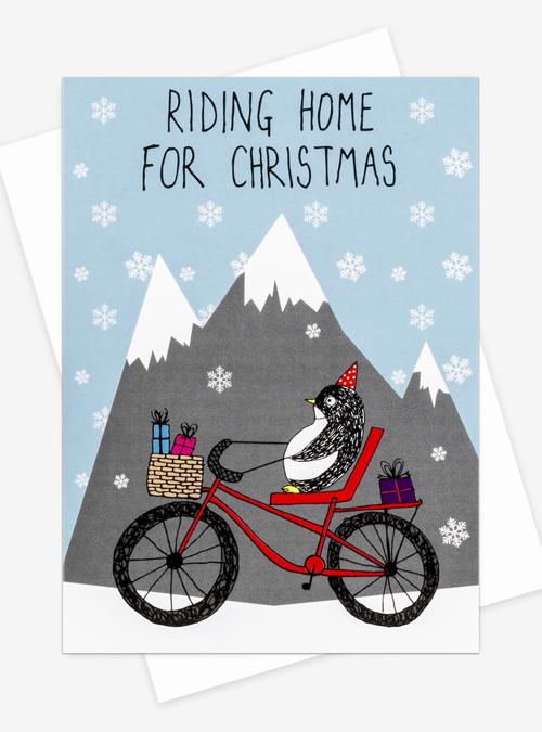 riding home for Christmas