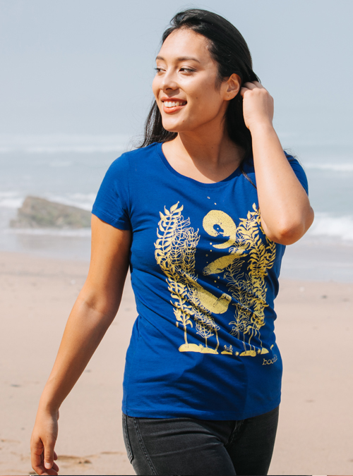 Otter and Kelp womens T-shirt