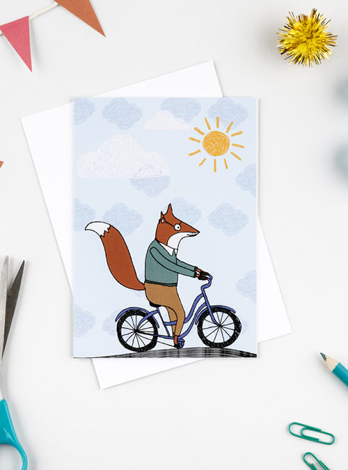 fox cycling card