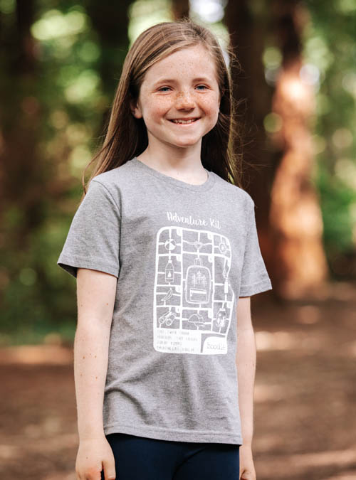 Adventure kit kids t-shirt