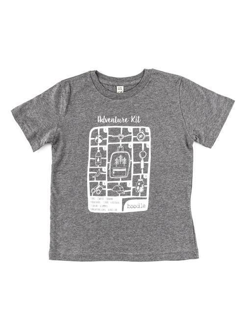 Adventure kit organic kids T-shirt – Boodle