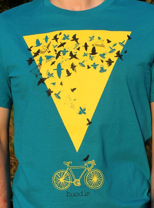 Starling murmuration T-shirt