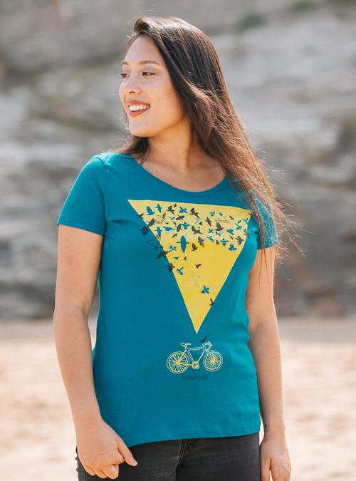 Murmuration womens t-shirt