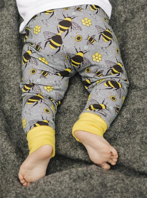 bee baby leggings