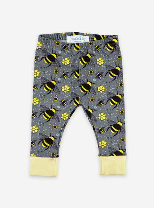 bee baby leggings