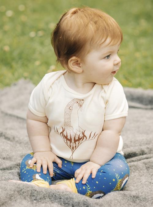 otter baby t-shirt