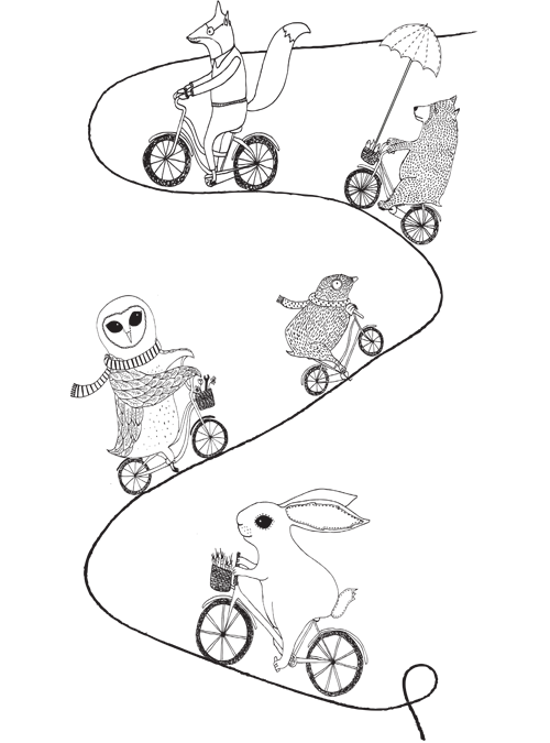 Cycling colouring in sheet
